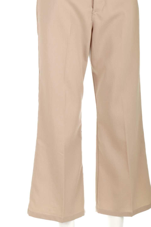 CroppedFlarePantsクロップド・フレアパンツ大人カジュアルに最適な海外ファッションのothers(その他インポートアイテム)のボトムやパンツ。程よい丈の長さのクロップドぱパンツ。膝から裾にかけてのフレアが綺麗なアイテムです。/main-23