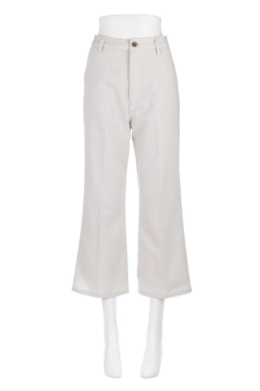 CroppedFlarePantsクロップド・フレアパンツ大人カジュアルに最適な海外ファッションのothers(その他インポートアイテム)のボトムやパンツ。程よい丈の長さのクロップドぱパンツ。膝から裾にかけてのフレアが綺麗なアイテムです。/main-9
