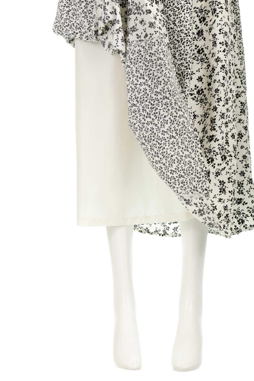 FloralPrintedPanelSkirt花柄・パネル切り替えスカート大人カジュアルに最適な海外ファッションのothers(その他インポートアイテム)のボトムやスカート。2種類の花柄プリントが可愛いマキシスカート。薄手でサラサラとした肌触りの生地で涼しげなスカートです。/main-10