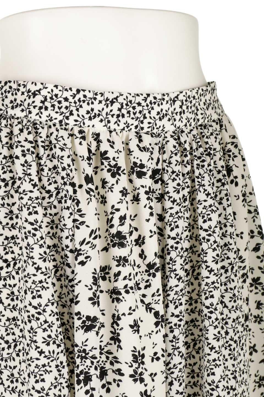 FloralPrintedPanelSkirt花柄・パネル切り替えスカート大人カジュアルに最適な海外ファッションのothers(その他インポートアイテム)のボトムやスカート。2種類の花柄プリントが可愛いマキシスカート。薄手でサラサラとした肌触りの生地で涼しげなスカートです。/main-5