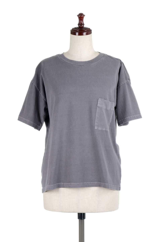 HardWashedPocketTピグメント加工・ポケ付きTシャツ大人カジュアルに最適な海外ファッションのothers(その他インポートアイテム)のトップスやTシャツ。気軽に着れるピグメント加工のポケット付きTシャツ。ピグメント加工でクタッとソフトな生地でカジュアル感のあるトップスです。/main-10