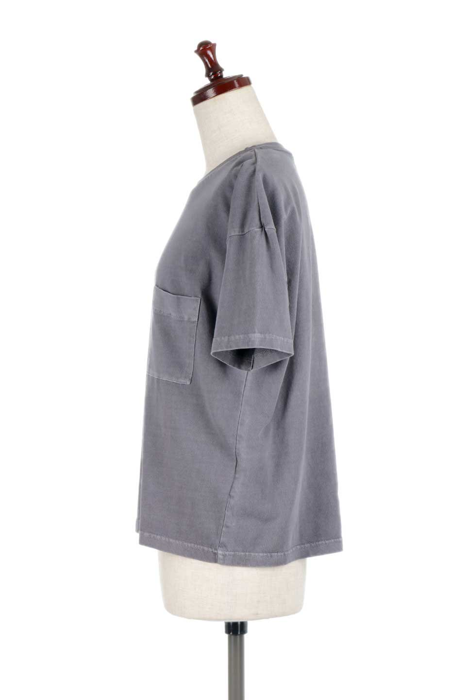HardWashedPocketTピグメント加工・ポケ付きTシャツ大人カジュアルに最適な海外ファッションのothers(その他インポートアイテム)のトップスやTシャツ。気軽に着れるピグメント加工のポケット付きTシャツ。ピグメント加工でクタッとソフトな生地でカジュアル感のあるトップスです。/main-12