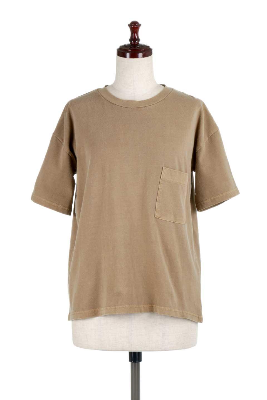 HardWashedPocketTピグメント加工・ポケ付きTシャツ大人カジュアルに最適な海外ファッションのothers(その他インポートアイテム)のトップスやTシャツ。気軽に着れるピグメント加工のポケット付きTシャツ。ピグメント加工でクタッとソフトな生地でカジュアル感のあるトップスです。/main-15