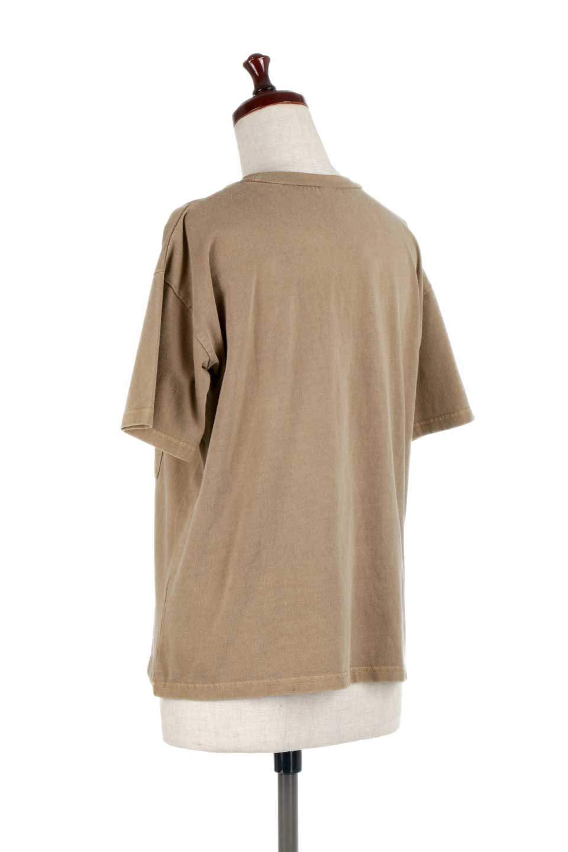 HardWashedPocketTピグメント加工・ポケ付きTシャツ大人カジュアルに最適な海外ファッションのothers(その他インポートアイテム)のトップスやTシャツ。気軽に着れるピグメント加工のポケット付きTシャツ。ピグメント加工でクタッとソフトな生地でカジュアル感のあるトップスです。/main-18