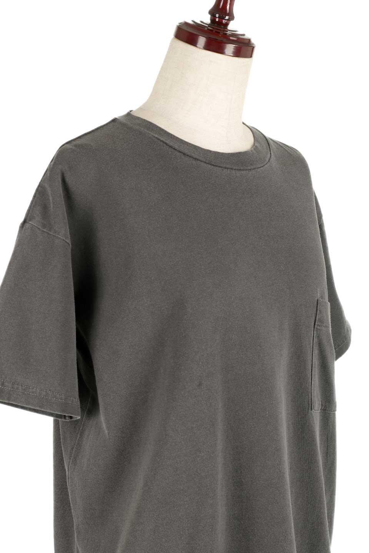 HardWashedPocketTピグメント加工・ポケ付きTシャツ大人カジュアルに最適な海外ファッションのothers(その他インポートアイテム)のトップスやTシャツ。気軽に着れるピグメント加工のポケット付きTシャツ。ピグメント加工でクタッとソフトな生地でカジュアル感のあるトップスです。/main-20