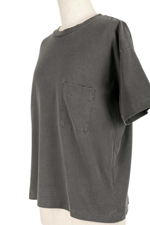 HardWashedPocketTピグメント加工・ポケ付きTシャツ大人カジュアルに最適な海外ファッションのothers(その他インポートアイテム)のトップスやTシャツ。気軽に着れるピグメント加工のポケット付きTシャツ。ピグメント加工でクタッとソフトな生地でカジュアル感のあるトップスです。/main-22