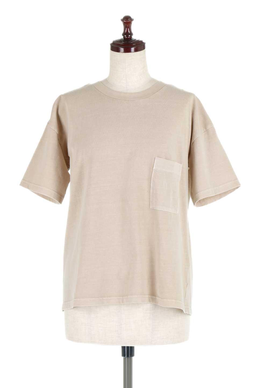 HardWashedPocketTピグメント加工・ポケ付きTシャツ大人カジュアルに最適な海外ファッションのothers(その他インポートアイテム)のトップスやTシャツ。気軽に着れるピグメント加工のポケット付きTシャツ。ピグメント加工でクタッとソフトな生地でカジュアル感のあるトップスです。/main-5