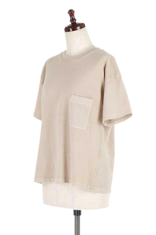 HardWashedPocketTピグメント加工・ポケ付きTシャツ大人カジュアルに最適な海外ファッションのothers(その他インポートアイテム)のトップスやTシャツ。気軽に着れるピグメント加工のポケット付きTシャツ。ピグメント加工でクタッとソフトな生地でカジュアル感のあるトップスです。/main-6