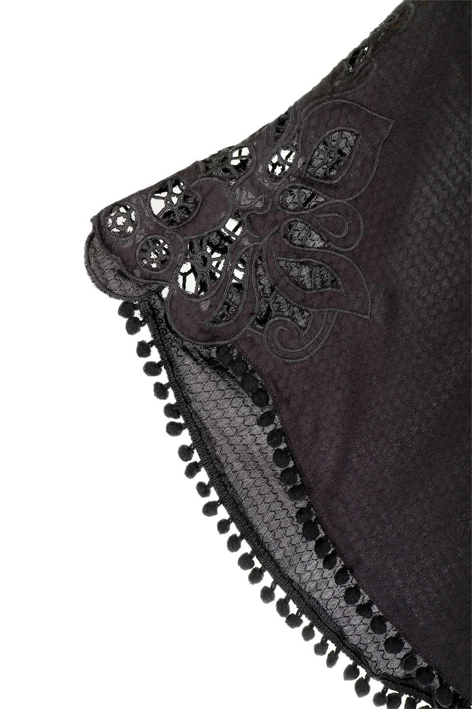 LOVESTITCHのCarineCrochetSleeveJumpsuitカットレーススリーブ・ブラックジャンプスーツ/海外ファッションが好きな大人カジュアルのためのLOVESTITCH(ラブステッチ)のボトムやロンパース類。カジュアルでありながらキリッとクールな雰囲気のジャンプスーツ。大人っぽく色っぽいブラックカジュアル好きにはたまらないアイテムです。/main-13
