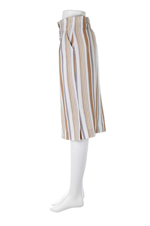 MultiStripedSemiTightSkirtマルチストライプ・セミタイトスカート大人カジュアルに最適な海外ファッションのothers(その他インポートアイテム)のボトムやスカート。多色使いでコーデしやすいマルチストライプのセミタイトスカート。各色にくすんだカラーを使用して派手感を抑えたスカートです。/main-12