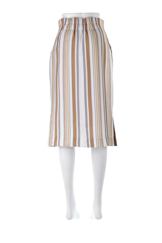 MultiStripedSemiTightSkirtマルチストライプ・セミタイトスカート大人カジュアルに最適な海外ファッションのothers(その他インポートアイテム)のボトムやスカート。多色使いでコーデしやすいマルチストライプのセミタイトスカート。各色にくすんだカラーを使用して派手感を抑えたスカートです。/main-14