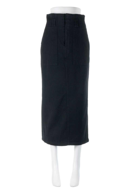 HighWaistPencilSkirtハイウエスト・ツイルペンシルスカート大人カジュアルに最適な海外ファッションのothers(その他インポートアイテム)のボトムやスカート。コットンツイルのしっかりした生地のタイトスカート。ミリタリーやワーク系の雰囲気もあるカジュアルテイストのアイテムです。/main-10