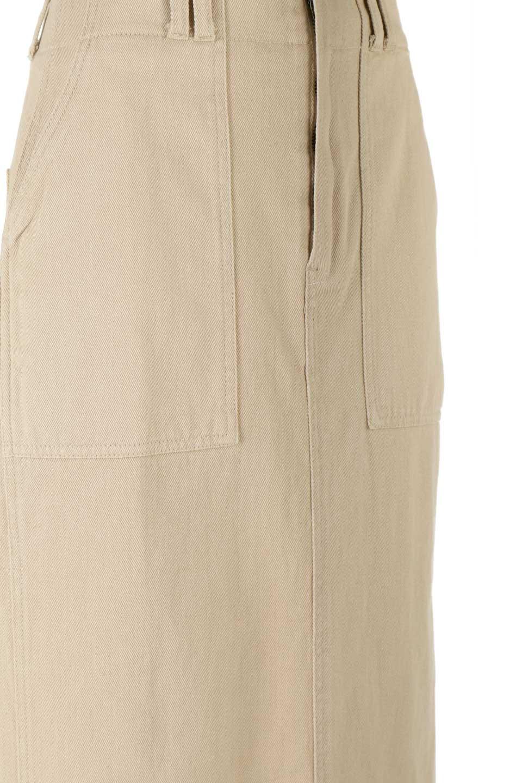 HighWaistPencilSkirtハイウエスト・ツイルペンシルスカート大人カジュアルに最適な海外ファッションのothers(その他インポートアイテム)のボトムやスカート。コットンツイルのしっかりした生地のタイトスカート。ミリタリーやワーク系の雰囲気もあるカジュアルテイストのアイテムです。/main-19