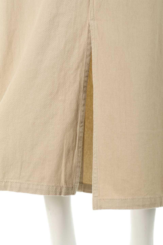 HighWaistPencilSkirtハイウエスト・ツイルペンシルスカート大人カジュアルに最適な海外ファッションのothers(その他インポートアイテム)のボトムやスカート。コットンツイルのしっかりした生地のタイトスカート。ミリタリーやワーク系の雰囲気もあるカジュアルテイストのアイテムです。/main-20