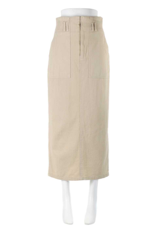 HighWaistPencilSkirtハイウエスト・ツイルペンシルスカート大人カジュアルに最適な海外ファッションのothers(その他インポートアイテム)のボトムやスカート。コットンツイルのしっかりした生地のタイトスカート。ミリタリーやワーク系の雰囲気もあるカジュアルテイストのアイテムです。/main-5