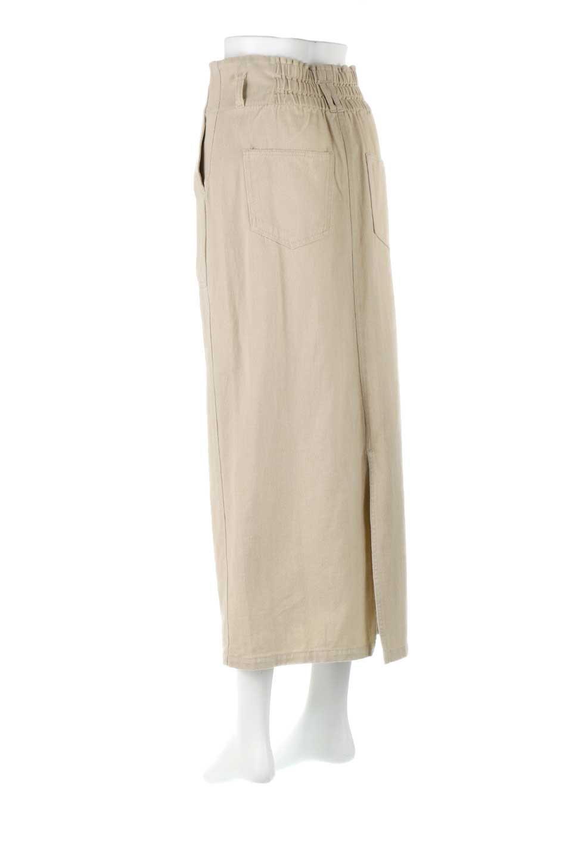 HighWaistPencilSkirtハイウエスト・ツイルペンシルスカート大人カジュアルに最適な海外ファッションのothers(その他インポートアイテム)のボトムやスカート。コットンツイルのしっかりした生地のタイトスカート。ミリタリーやワーク系の雰囲気もあるカジュアルテイストのアイテムです。/main-8