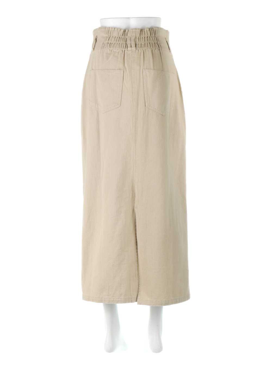 HighWaistPencilSkirtハイウエスト・ツイルペンシルスカート大人カジュアルに最適な海外ファッションのothers(その他インポートアイテム)のボトムやスカート。コットンツイルのしっかりした生地のタイトスカート。ミリタリーやワーク系の雰囲気もあるカジュアルテイストのアイテムです。/main-9