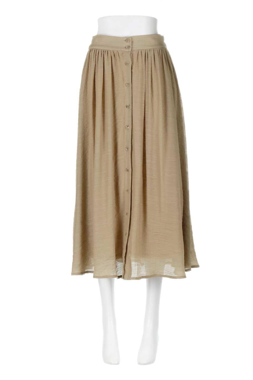 FullOpenFlareSkirtスラブガーゼ・フルオープンマキシスカート大人カジュアルに最適な海外ファッションのothers(その他インポートアイテム)のボトムやスカート。レーヨンのスラブガーゼ素材のマキシスカート。涼しげなガーゼに裏地が付いて安心感のあるスカートです。/main-10