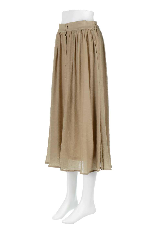 FullOpenFlareSkirtスラブガーゼ・フルオープンマキシスカート大人カジュアルに最適な海外ファッションのothers(その他インポートアイテム)のボトムやスカート。レーヨンのスラブガーゼ素材のマキシスカート。涼しげなガーゼに裏地が付いて安心感のあるスカートです。/main-11
