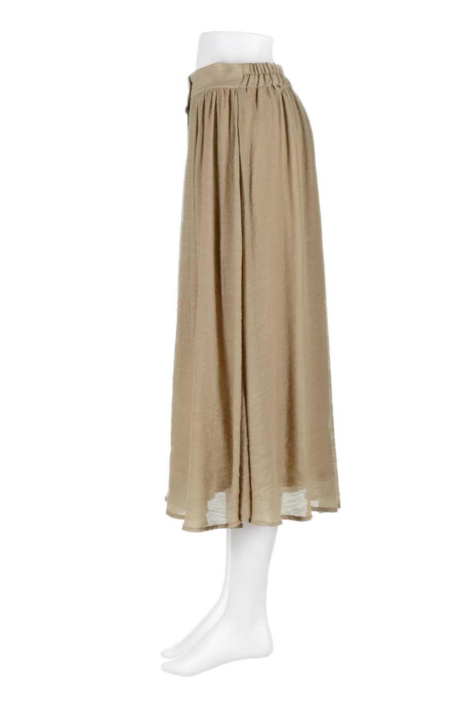 FullOpenFlareSkirtスラブガーゼ・フルオープンマキシスカート大人カジュアルに最適な海外ファッションのothers(その他インポートアイテム)のボトムやスカート。レーヨンのスラブガーゼ素材のマキシスカート。涼しげなガーゼに裏地が付いて安心感のあるスカートです。/main-12