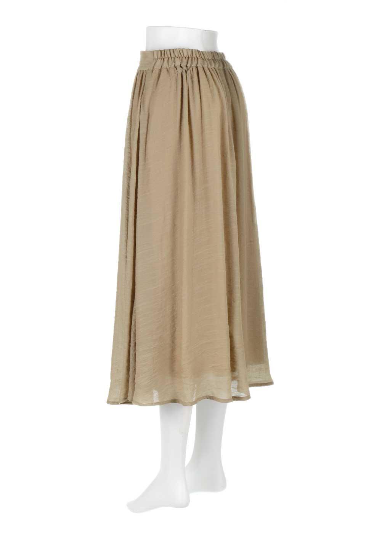 FullOpenFlareSkirtスラブガーゼ・フルオープンマキシスカート大人カジュアルに最適な海外ファッションのothers(その他インポートアイテム)のボトムやスカート。レーヨンのスラブガーゼ素材のマキシスカート。涼しげなガーゼに裏地が付いて安心感のあるスカートです。/main-13