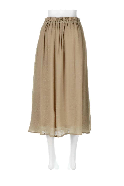 FullOpenFlareSkirtスラブガーゼ・フルオープンマキシスカート大人カジュアルに最適な海外ファッションのothers(その他インポートアイテム)のボトムやスカート。レーヨンのスラブガーゼ素材のマキシスカート。涼しげなガーゼに裏地が付いて安心感のあるスカートです。/main-14