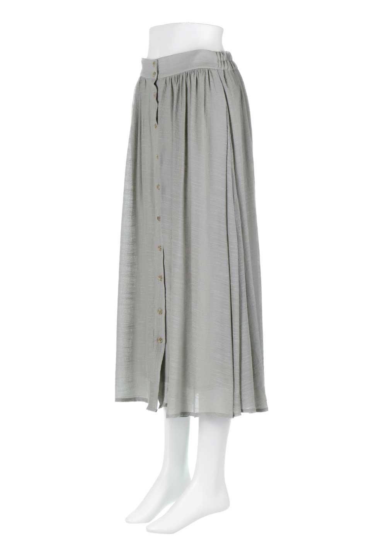 FullOpenFlareSkirtスラブガーゼ・フルオープンマキシスカート大人カジュアルに最適な海外ファッションのothers(その他インポートアイテム)のボトムやスカート。レーヨンのスラブガーゼ素材のマキシスカート。涼しげなガーゼに裏地が付いて安心感のあるスカートです。/main-16