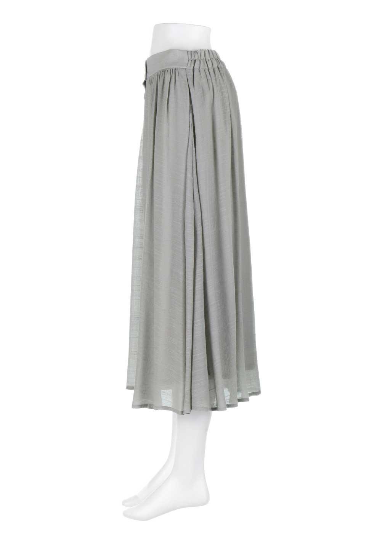 FullOpenFlareSkirtスラブガーゼ・フルオープンマキシスカート大人カジュアルに最適な海外ファッションのothers(その他インポートアイテム)のボトムやスカート。レーヨンのスラブガーゼ素材のマキシスカート。涼しげなガーゼに裏地が付いて安心感のあるスカートです。/main-17