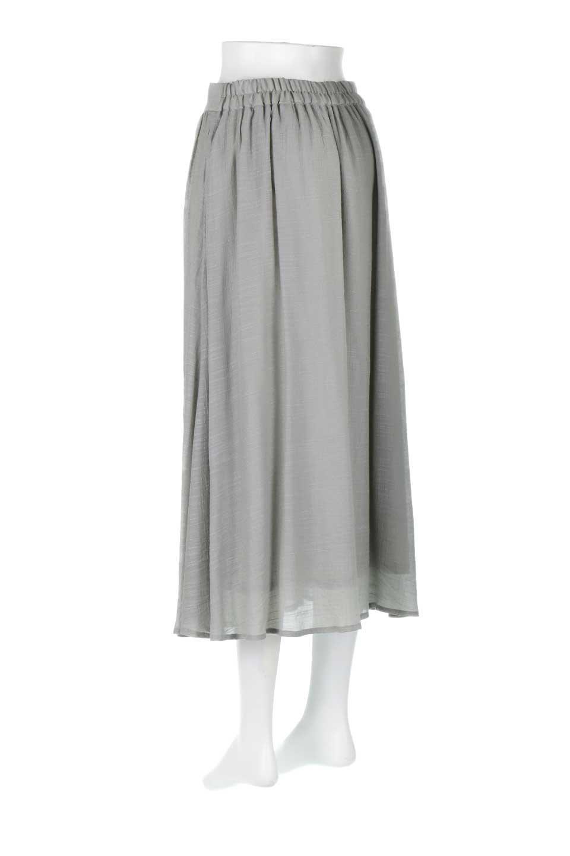 FullOpenFlareSkirtスラブガーゼ・フルオープンマキシスカート大人カジュアルに最適な海外ファッションのothers(その他インポートアイテム)のボトムやスカート。レーヨンのスラブガーゼ素材のマキシスカート。涼しげなガーゼに裏地が付いて安心感のあるスカートです。/main-18