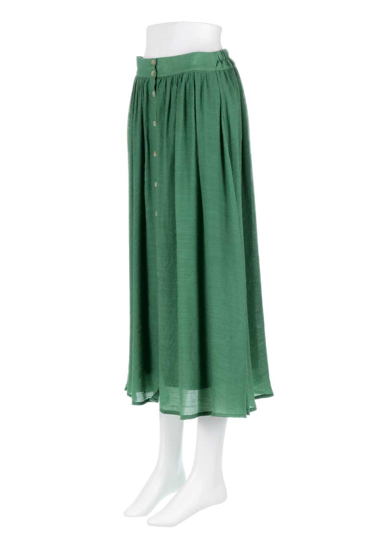 FullOpenFlareSkirtスラブガーゼ・フルオープンマキシスカート大人カジュアルに最適な海外ファッションのothers(その他インポートアイテム)のボトムやスカート。レーヨンのスラブガーゼ素材のマキシスカート。涼しげなガーゼに裏地が付いて安心感のあるスカートです。/main-21