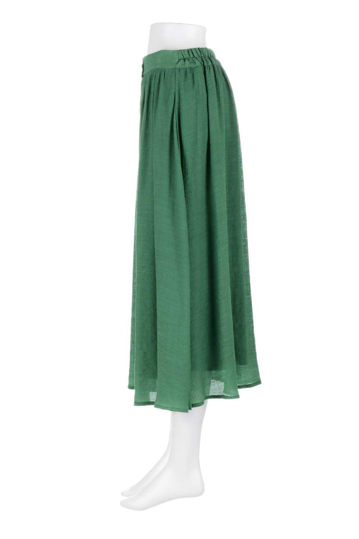 FullOpenFlareSkirtスラブガーゼ・フルオープンマキシスカート大人カジュアルに最適な海外ファッションのothers(その他インポートアイテム)のボトムやスカート。レーヨンのスラブガーゼ素材のマキシスカート。涼しげなガーゼに裏地が付いて安心感のあるスカートです。/main-22