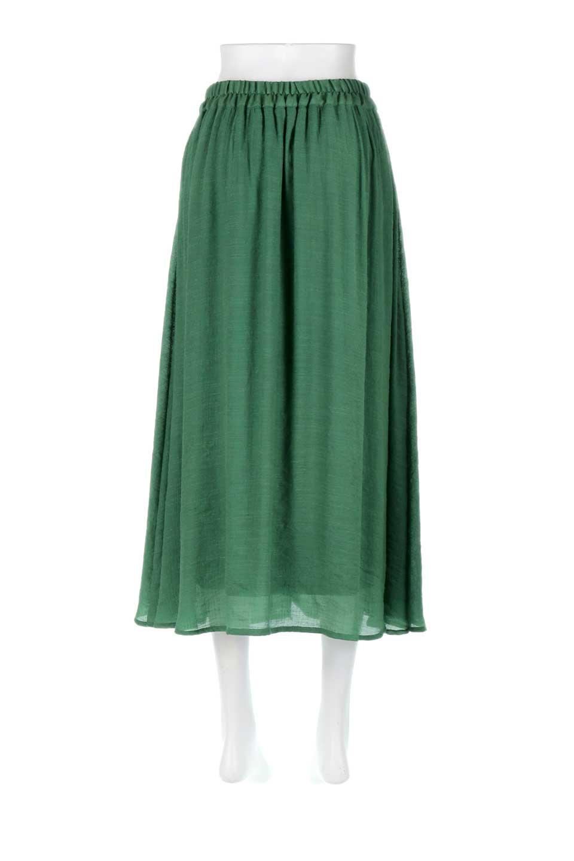 FullOpenFlareSkirtスラブガーゼ・フルオープンマキシスカート大人カジュアルに最適な海外ファッションのothers(その他インポートアイテム)のボトムやスカート。レーヨンのスラブガーゼ素材のマキシスカート。涼しげなガーゼに裏地が付いて安心感のあるスカートです。/main-24