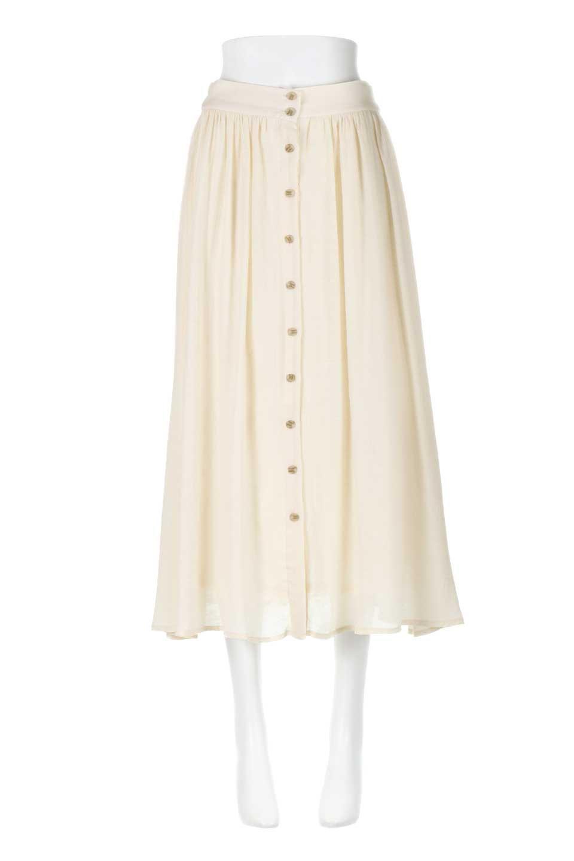 FullOpenFlareSkirtスラブガーゼ・フルオープンマキシスカート大人カジュアルに最適な海外ファッションのothers(その他インポートアイテム)のボトムやスカート。レーヨンのスラブガーゼ素材のマキシスカート。涼しげなガーゼに裏地が付いて安心感のあるスカートです。/main-5