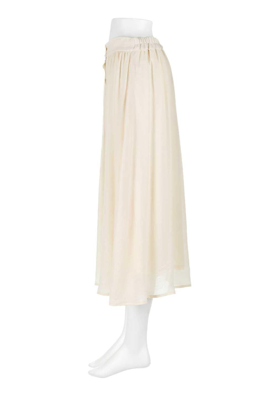 FullOpenFlareSkirtスラブガーゼ・フルオープンマキシスカート大人カジュアルに最適な海外ファッションのothers(その他インポートアイテム)のボトムやスカート。レーヨンのスラブガーゼ素材のマキシスカート。涼しげなガーゼに裏地が付いて安心感のあるスカートです。/main-7