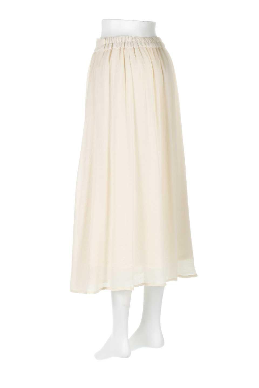 FullOpenFlareSkirtスラブガーゼ・フルオープンマキシスカート大人カジュアルに最適な海外ファッションのothers(その他インポートアイテム)のボトムやスカート。レーヨンのスラブガーゼ素材のマキシスカート。涼しげなガーゼに裏地が付いて安心感のあるスカートです。/main-8