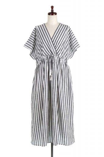 Indian Cotton Striped Long Dress インドコットン・ストライプワンピース / 大人カジュアルに最適な海外ファッションが得意な福島市のセレクトショップbloom