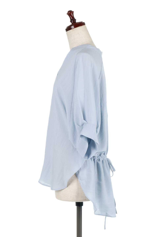 DolmanSleeveBackTiedBlouseドルマンスリーブ・バックリボンブラウス大人カジュアルに最適な海外ファッションのothers(その他インポートアイテム)のトップスやシャツ・ブラウス。バックスリットデザインとドロストのギャザー感が後ろ姿も美しく見せてくれるドルマンブラウス。程よいネックの抜け感が今年らしいトップス。/main-12