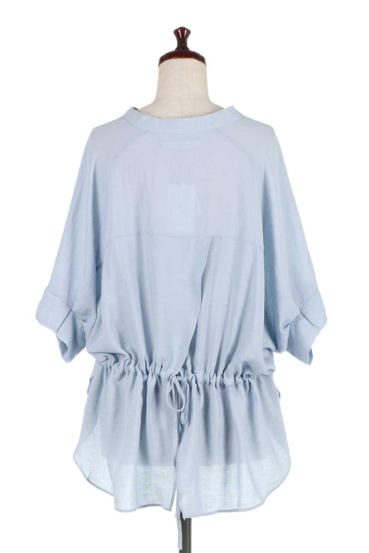 DolmanSleeveBackTiedBlouseドルマンスリーブ・バックリボンブラウス大人カジュアルに最適な海外ファッションのothers(その他インポートアイテム)のトップスやシャツ・ブラウス。バックスリットデザインとドロストのギャザー感が後ろ姿も美しく見せてくれるドルマンブラウス。程よいネックの抜け感が今年らしいトップス。/main-14