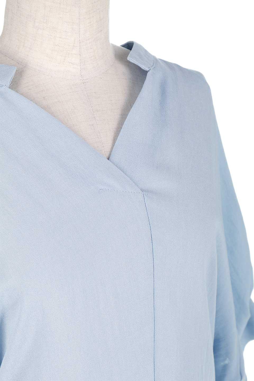 DolmanSleeveBackTiedBlouseドルマンスリーブ・バックリボンブラウス大人カジュアルに最適な海外ファッションのothers(その他インポートアイテム)のトップスやシャツ・ブラウス。バックスリットデザインとドロストのギャザー感が後ろ姿も美しく見せてくれるドルマンブラウス。程よいネックの抜け感が今年らしいトップス。/main-17