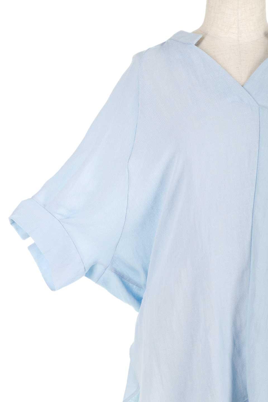 DolmanSleeveBackTiedBlouseドルマンスリーブ・バックリボンブラウス大人カジュアルに最適な海外ファッションのothers(その他インポートアイテム)のトップスやシャツ・ブラウス。バックスリットデザインとドロストのギャザー感が後ろ姿も美しく見せてくれるドルマンブラウス。程よいネックの抜け感が今年らしいトップス。/main-19