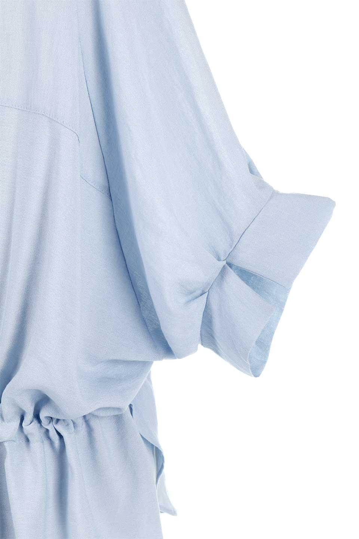 DolmanSleeveBackTiedBlouseドルマンスリーブ・バックリボンブラウス大人カジュアルに最適な海外ファッションのothers(その他インポートアイテム)のトップスやシャツ・ブラウス。バックスリットデザインとドロストのギャザー感が後ろ姿も美しく見せてくれるドルマンブラウス。程よいネックの抜け感が今年らしいトップス。/main-21
