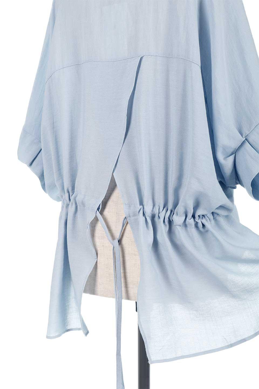 DolmanSleeveBackTiedBlouseドルマンスリーブ・バックリボンブラウス大人カジュアルに最適な海外ファッションのothers(その他インポートアイテム)のトップスやシャツ・ブラウス。バックスリットデザインとドロストのギャザー感が後ろ姿も美しく見せてくれるドルマンブラウス。程よいネックの抜け感が今年らしいトップス。/main-24