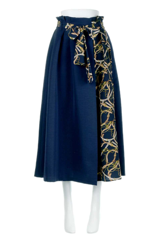 ScarfPanelLongSkirtスカーフ柄・切り替えスカート大人カジュアルに最適な海外ファッションのothers(その他インポートアイテム)のボトムやスカート。スカーフ柄の切り替えが可愛い切り替えスカート。カジュアル感のある上品さが大人気のロングスカートです。/main-10