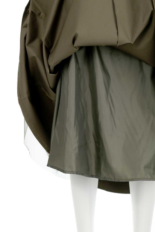 TulleLayeredLongSkirtチュールレイヤード・ロングスカート大人カジュアルに最適な海外ファッションのothers(その他インポートアイテム)のボトムやスカート。チュールとチノ素材のレイヤード・ロングスカート。ミリタリーやワーク系のディテールを透け感のあるチュールが優しく包んだスカートです。/main-13