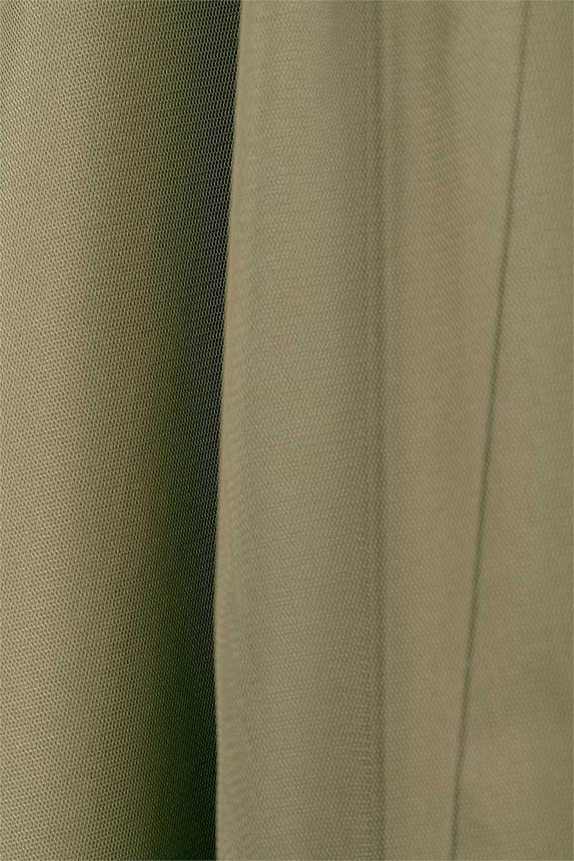 TulleLayeredLongSkirtチュールレイヤード・ロングスカート大人カジュアルに最適な海外ファッションのothers(その他インポートアイテム)のボトムやスカート。チュールとチノ素材のレイヤード・ロングスカート。ミリタリーやワーク系のディテールを透け感のあるチュールが優しく包んだスカートです。/main-8
