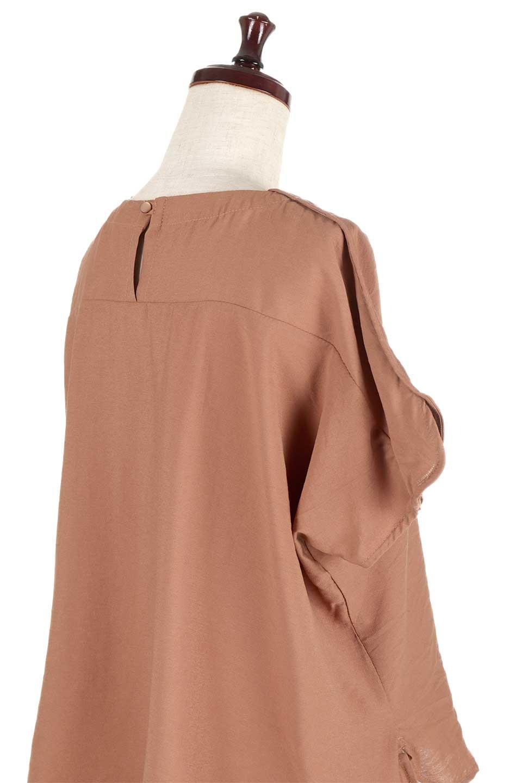 WrapSleeveBlouseラップスリーブ・ブラウス大人カジュアルに最適な海外ファッションのothers(その他インポートアイテム)のトップスやシャツ・ブラウス。ゆったりデザインのラップスリーブスリーブ。ドルマンタイプのシルエットで今風の着こなしが楽しめます。/main-11