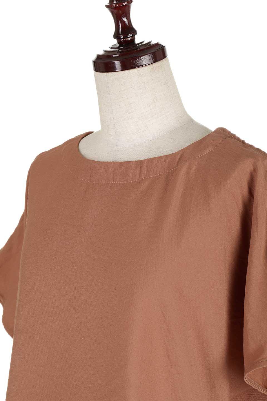WrapSleeveBlouseラップスリーブ・ブラウス大人カジュアルに最適な海外ファッションのothers(その他インポートアイテム)のトップスやシャツ・ブラウス。ゆったりデザインのラップスリーブスリーブ。ドルマンタイプのシルエットで今風の着こなしが楽しめます。/main-12