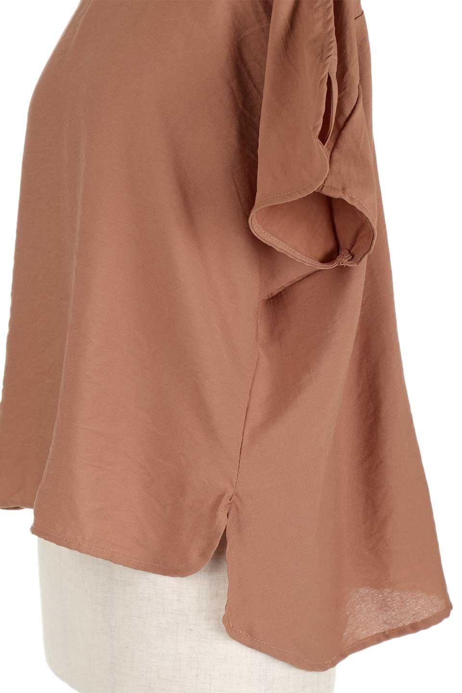 WrapSleeveBlouseラップスリーブ・ブラウス大人カジュアルに最適な海外ファッションのothers(その他インポートアイテム)のトップスやシャツ・ブラウス。ゆったりデザインのラップスリーブスリーブ。ドルマンタイプのシルエットで今風の着こなしが楽しめます。/main-14