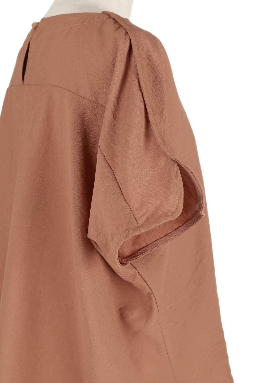 WrapSleeveBlouseラップスリーブ・ブラウス大人カジュアルに最適な海外ファッションのothers(その他インポートアイテム)のトップスやシャツ・ブラウス。ゆったりデザインのラップスリーブスリーブ。ドルマンタイプのシルエットで今風の着こなしが楽しめます。/main-15