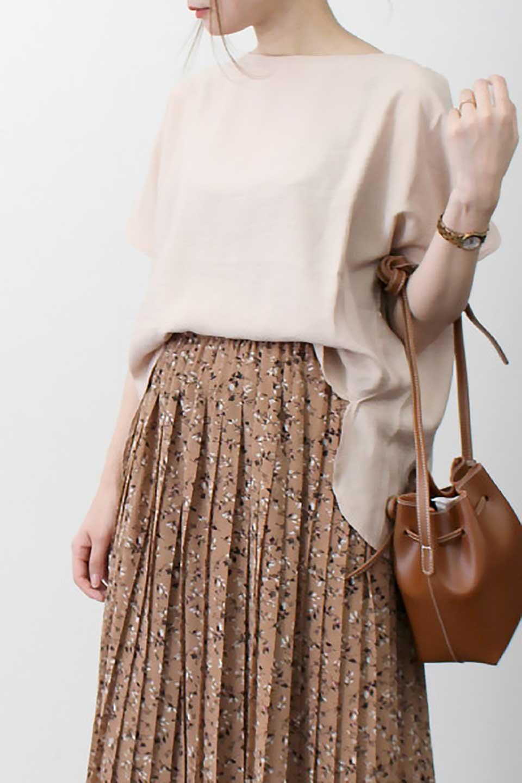 WrapSleeveBlouseラップスリーブ・ブラウス大人カジュアルに最適な海外ファッションのothers(その他インポートアイテム)のトップスやシャツ・ブラウス。ゆったりデザインのラップスリーブスリーブ。ドルマンタイプのシルエットで今風の着こなしが楽しめます。/main-17